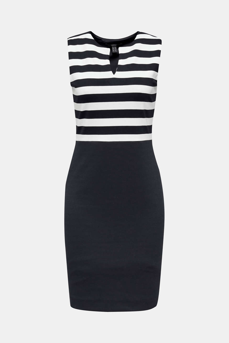 Sheath dress made of firm stretch jersey, NAVY, detail image number 6