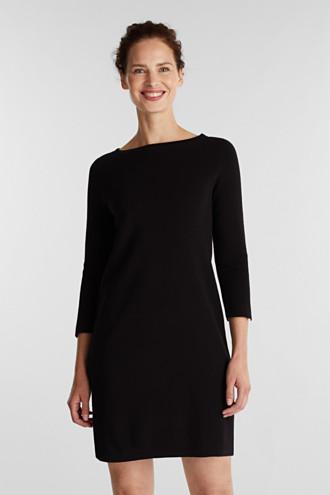 Knit dress made of 100% cotton
