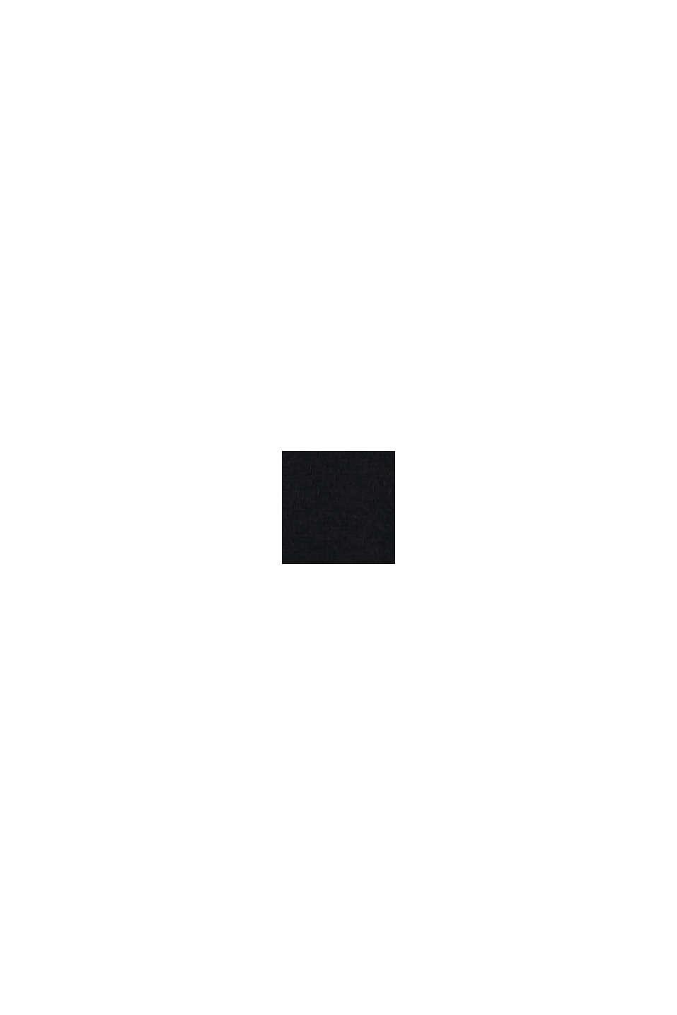Jersey jurk met LENZING™ ECOVERO™, BLACK, swatch