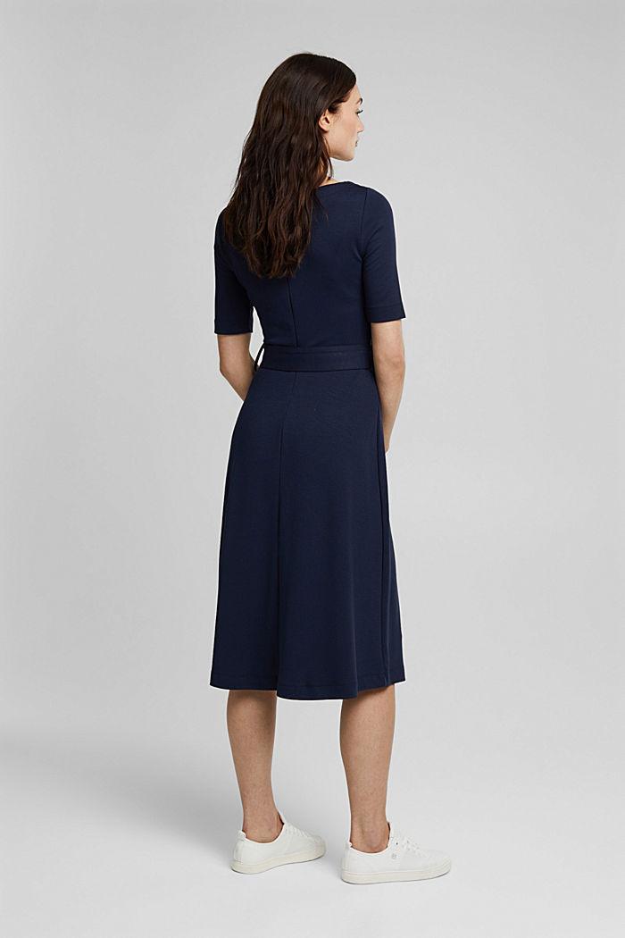 Jersey-Kleid mit LENZING™ ECOVERO™, NAVY, detail image number 2
