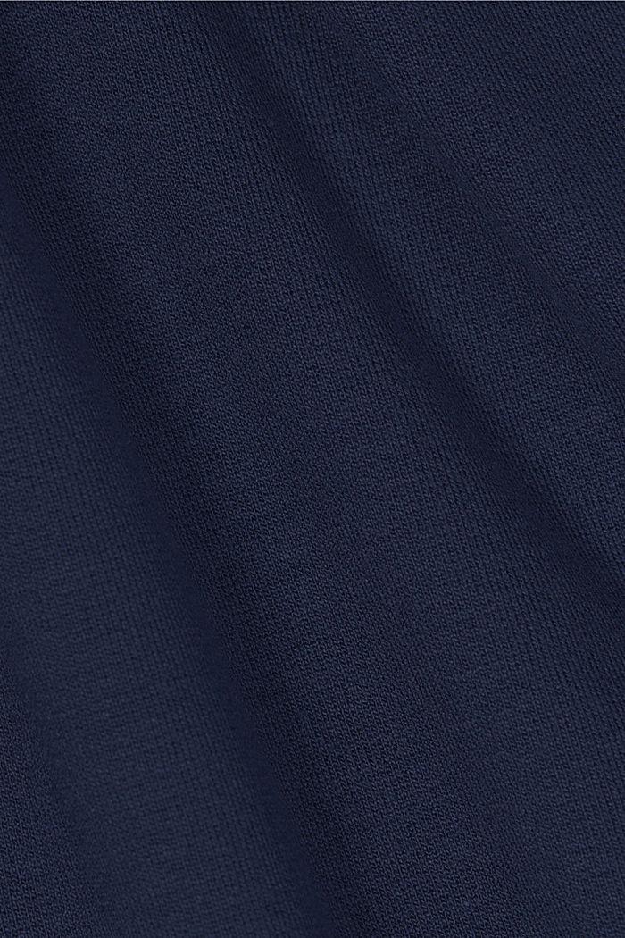 Jersey-Kleid mit LENZING™ ECOVERO™, NAVY, detail image number 4