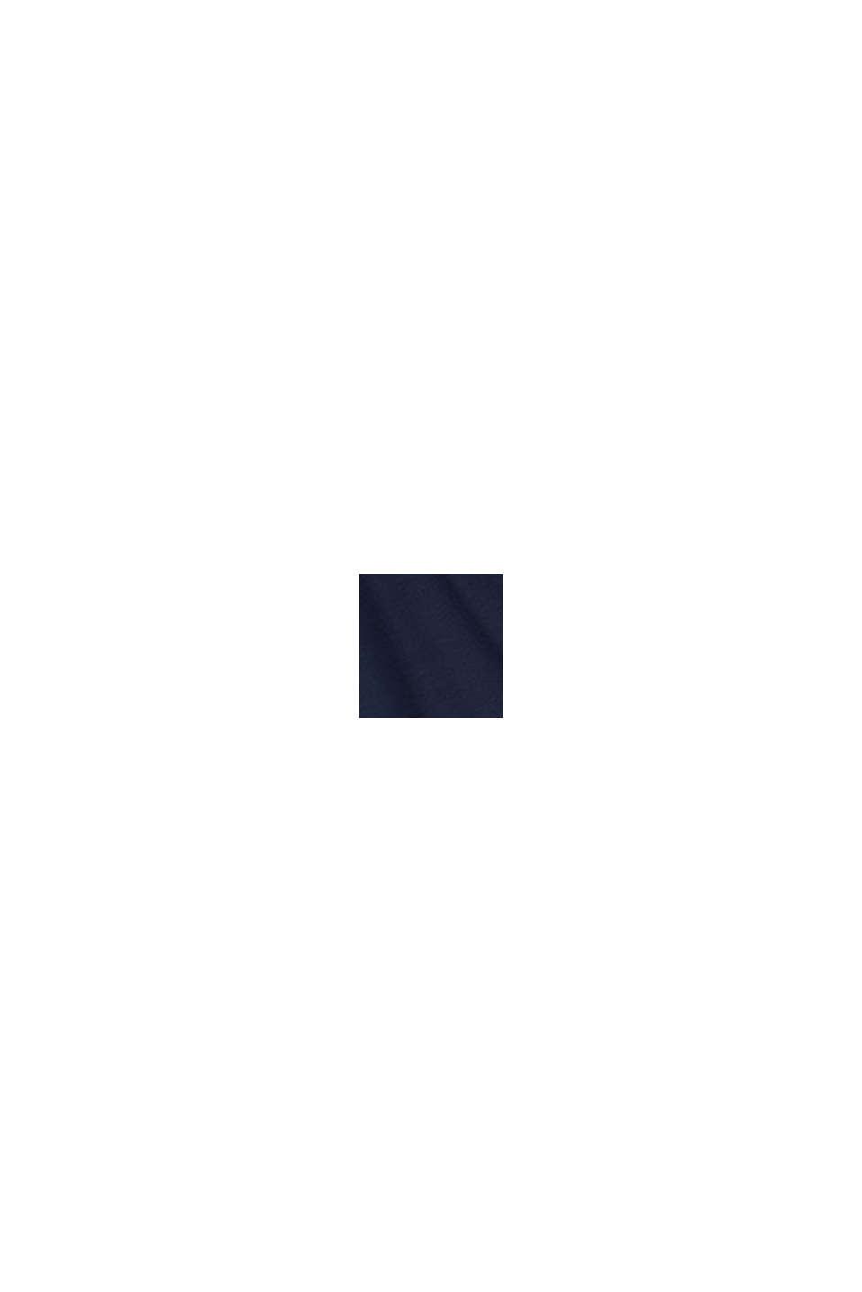 Jersey jurk met LENZING™ ECOVERO™, NAVY, swatch