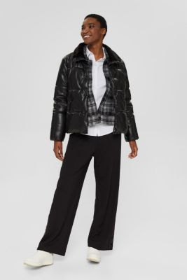 Fitted stretch shirt blouse, WHITE, detail