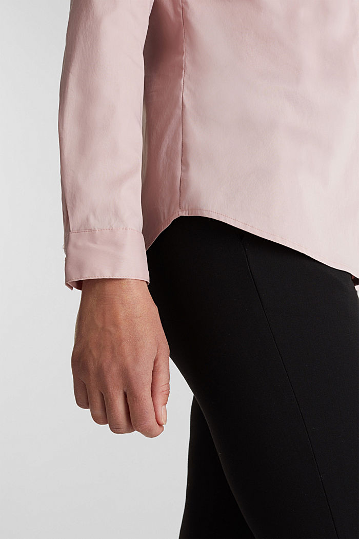 Taillierte Stretch-Hemdbluse, OLD PINK, detail image number 2