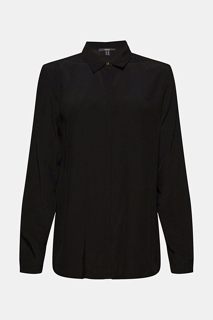 Blusa camisera en LENZING™ ECOVERO™