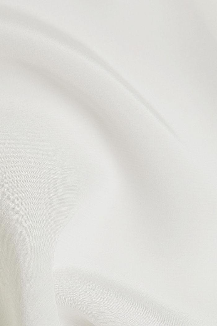 LENZING™ ECOVERO™ shirt blouse, OFF WHITE, detail image number 4