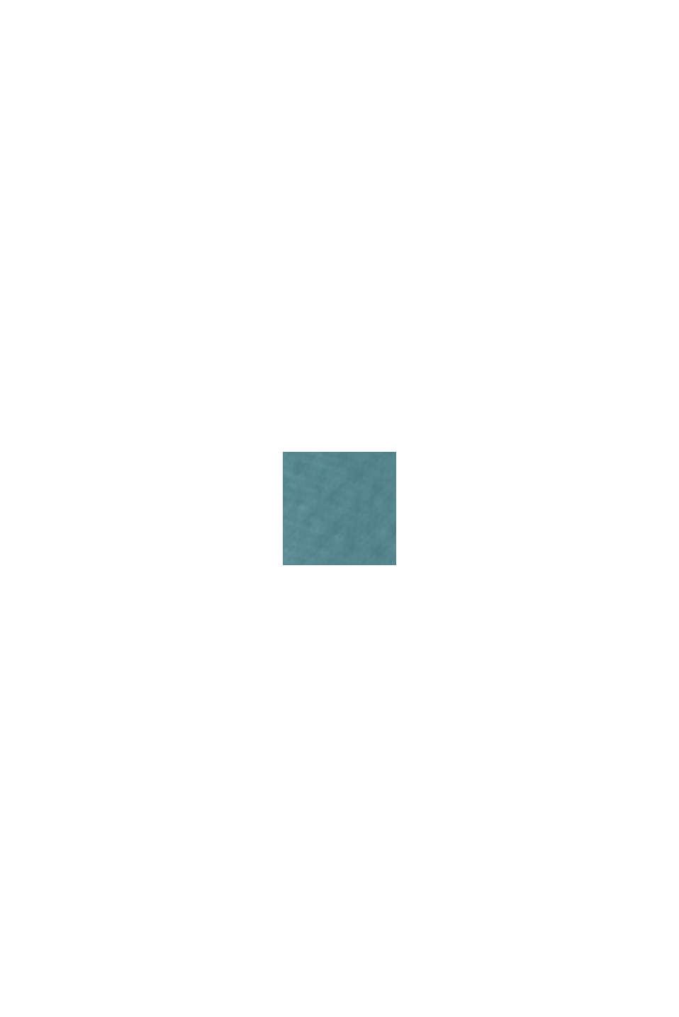 Overhemdblouse van LENZING™ ECOVERO™, LIGHT TURQUOISE, swatch
