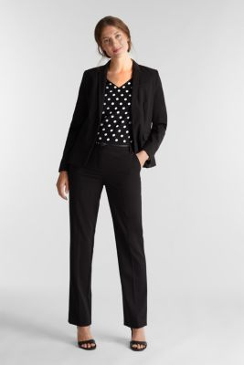Blouse top with polka dots, BLACK 3, detail