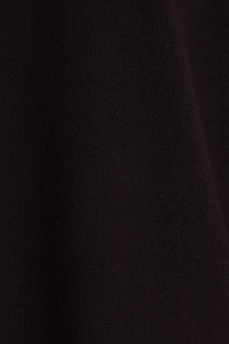 Sweaters cardigan, BLACK, detail image number 4