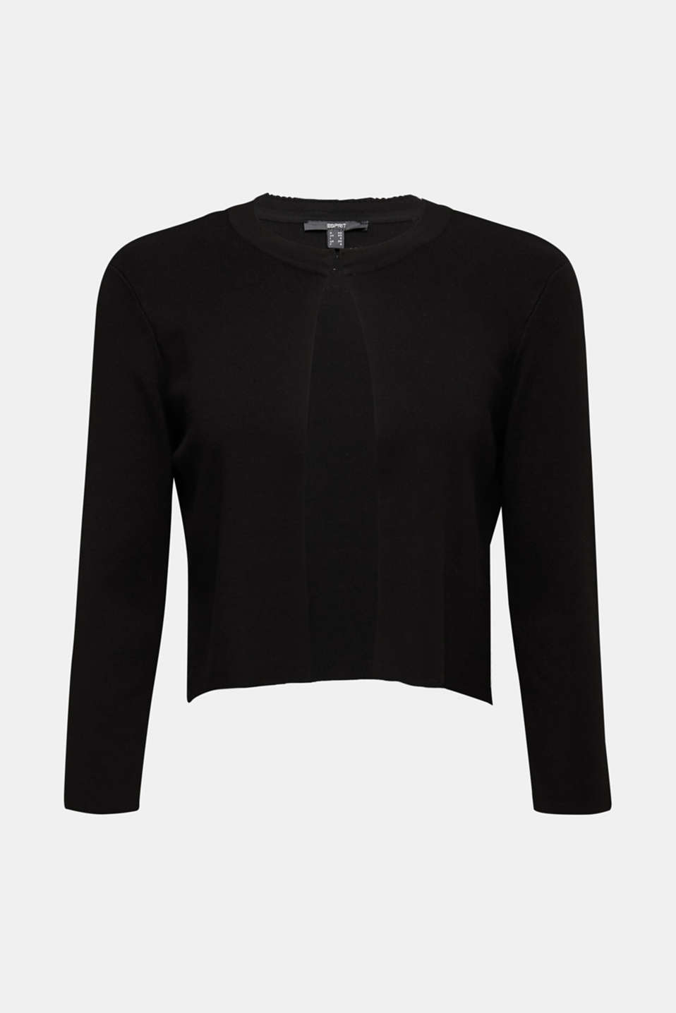 Sweaters cardigan, BLACK, detail image number 6