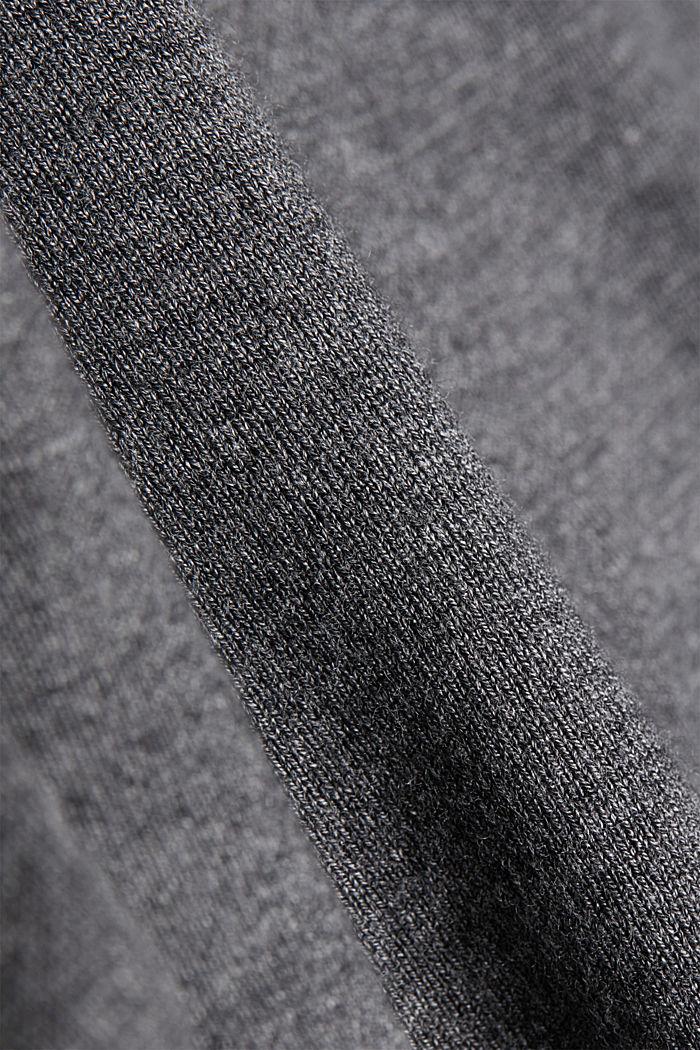 Jersey con LENZING™ ECOVERO™, GUNMETAL, detail image number 4