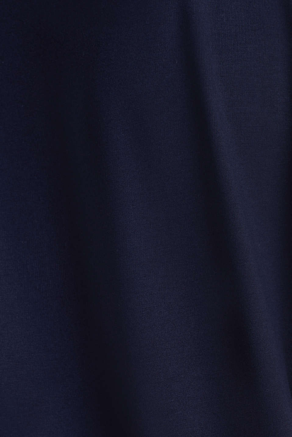 Stretch top with chiffon trims, NAVY, detail image number 4