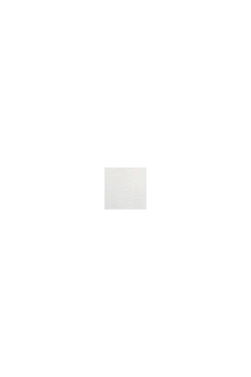 Jersey-Top mit Spitze, OFF WHITE, swatch