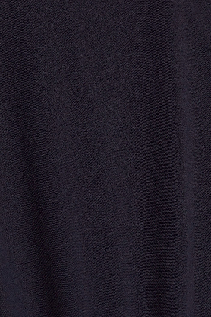 Offener Cardigan aus Jersey, NAVY, detail image number 4