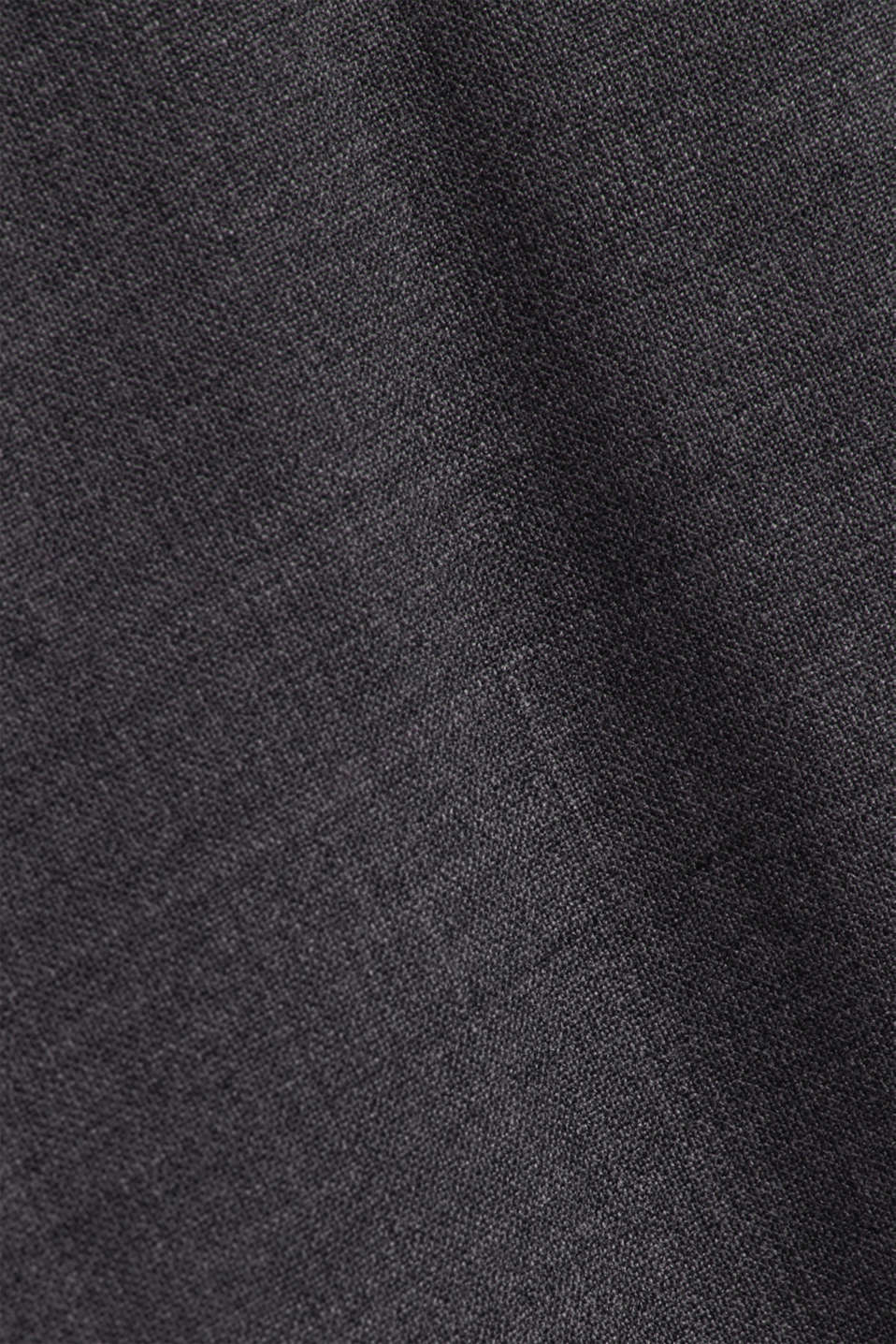 ACTIVE SUIT BLACK trousers made of blended wool, DARK GREY 5, detail image number 4