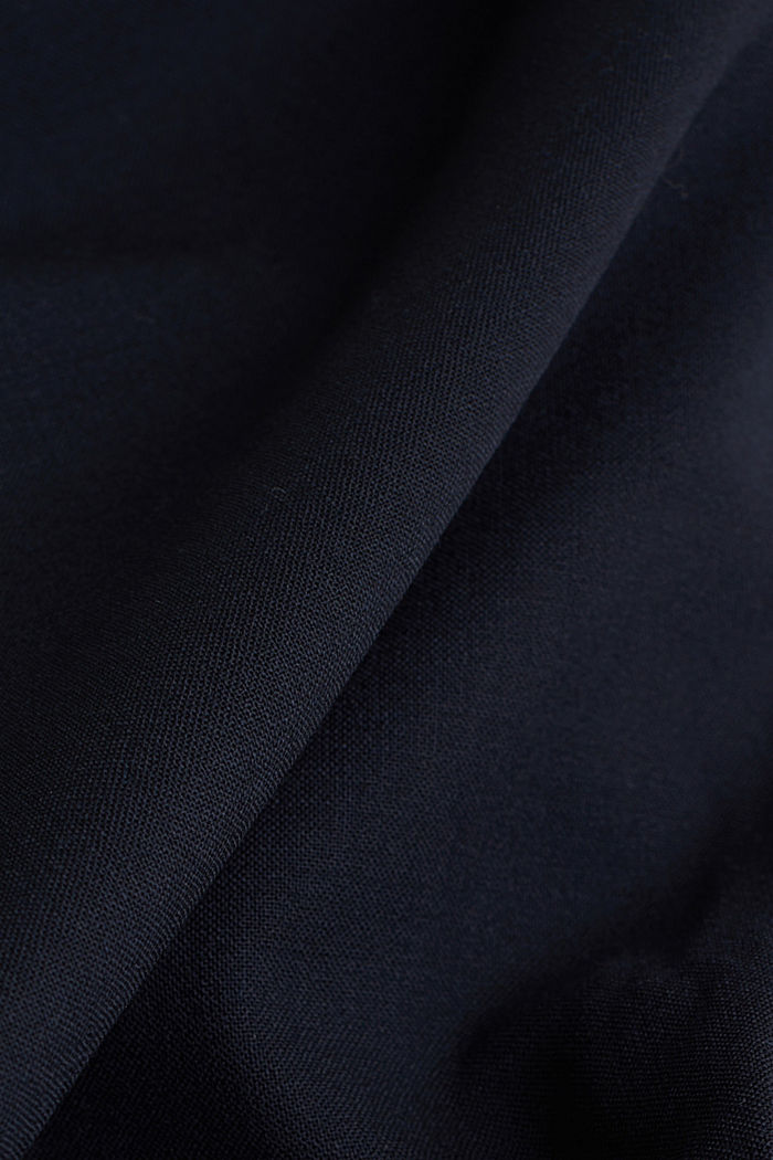 ACTIVE SUIT BLACK  Pantalón en mezcla de lana, DARK BLUE, detail image number 3