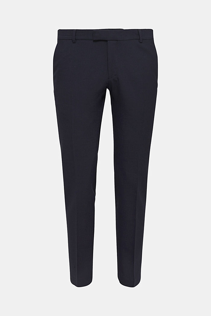 ACTIVE SUIT BLACK Hose aus Woll-Mix