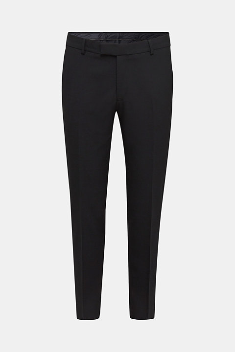 ACTIVE SUIT trousers made of blended wool