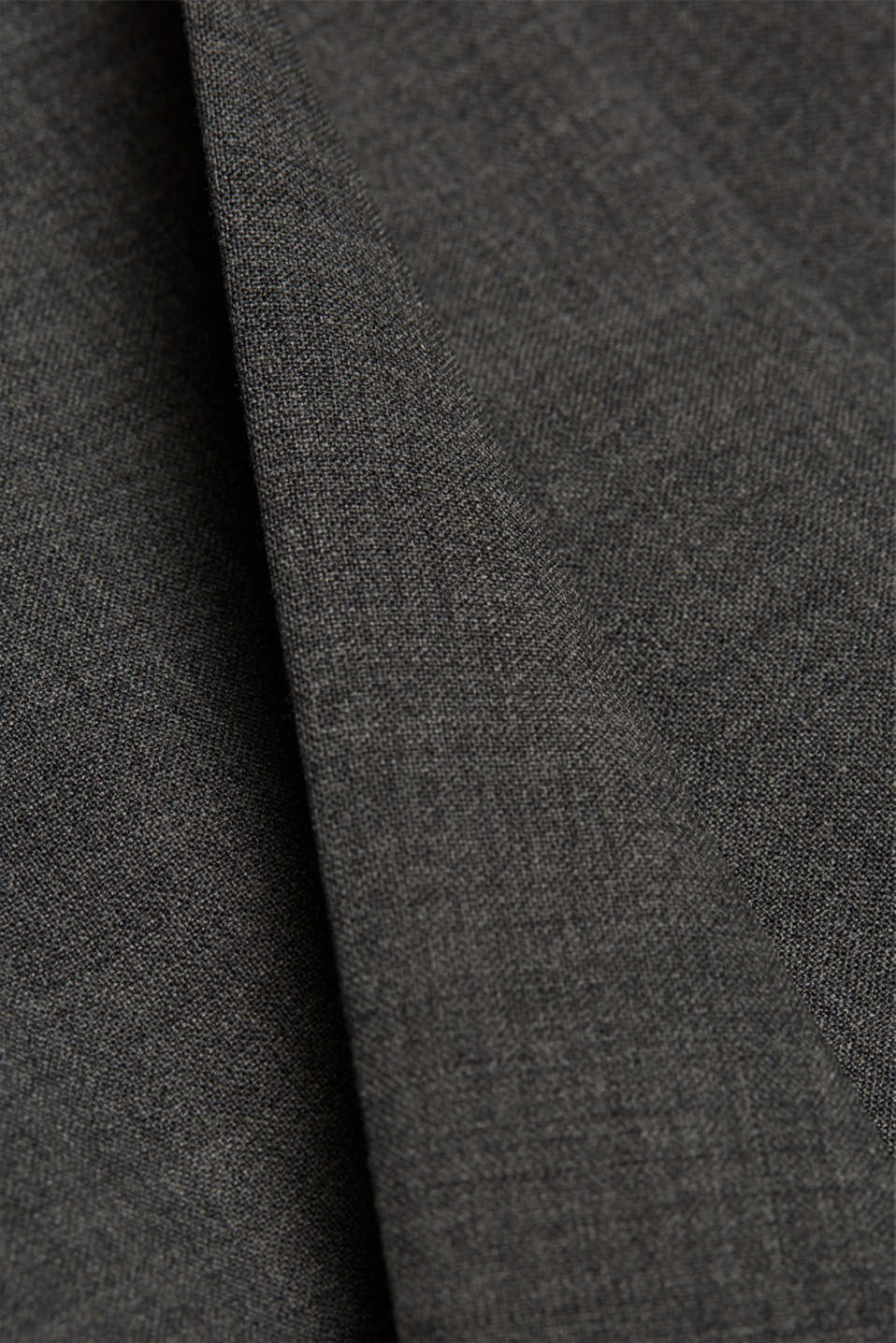 ACTIVE SUIT trousers made of blended wool, DARK GREY 5, detail image number 4