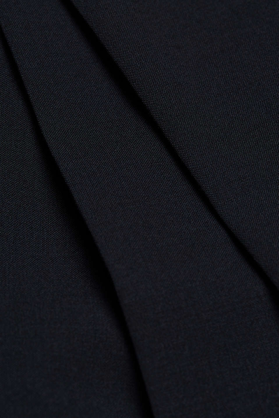 ACTIVE SUIT trousers made of blended wool, DARK BLUE, detail image number 4