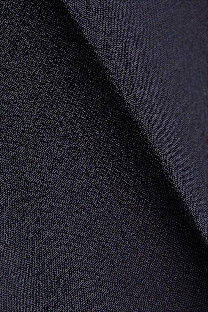 ACTIVE SUIT Pantalón en mezcla de lana, DARK BLUE, detail image number 5