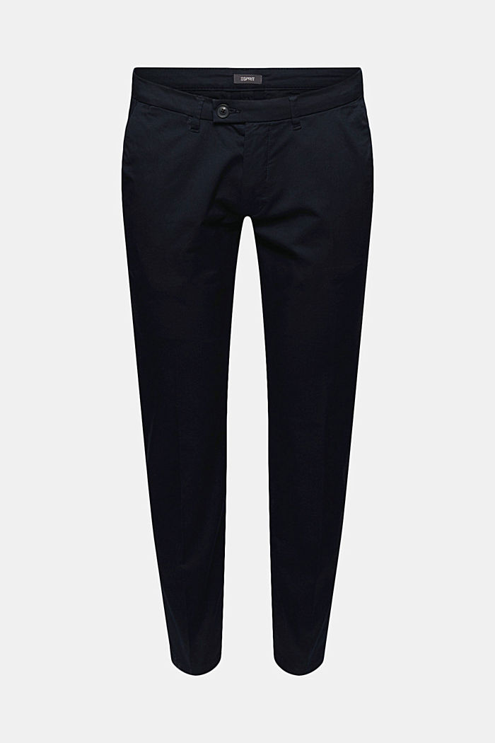 Stretch-Chino mit Organic Cotton, DARK BLUE, detail image number 6