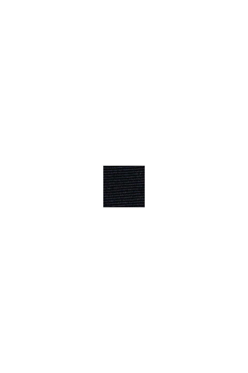 Chino stretch à teneur en coton bio, DARK BLUE, swatch