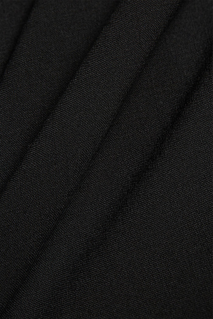 ACTIVE SUIT tailored jacket, wool blend, BLACK, detail image number 4