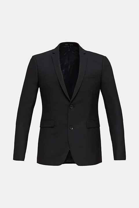ACTIVE SUIT tailored jacket, wool blend