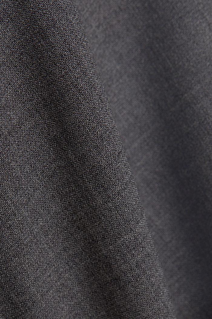 ACTIVE SUIT colbert van een wolmix, DARK GREY, detail image number 4