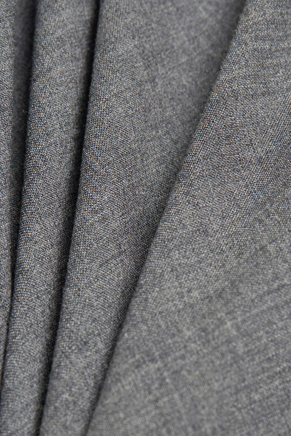 ACTIVE SUIT tailored jacket, wool blend, DARK GREY 5, detail image number 5