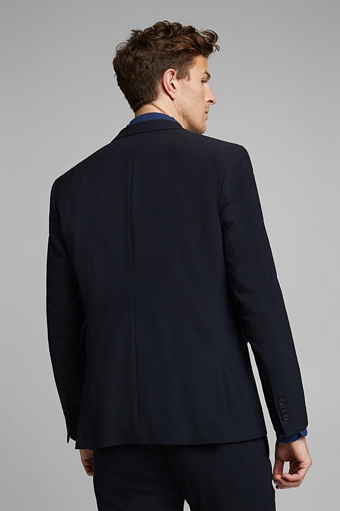 Veste en laine mélangée ACTIVE SUIT, DARK BLUE, detail image number 3