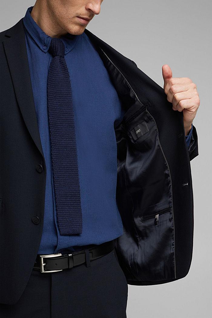 Veste en laine mélangée ACTIVE SUIT, DARK BLUE, detail image number 2