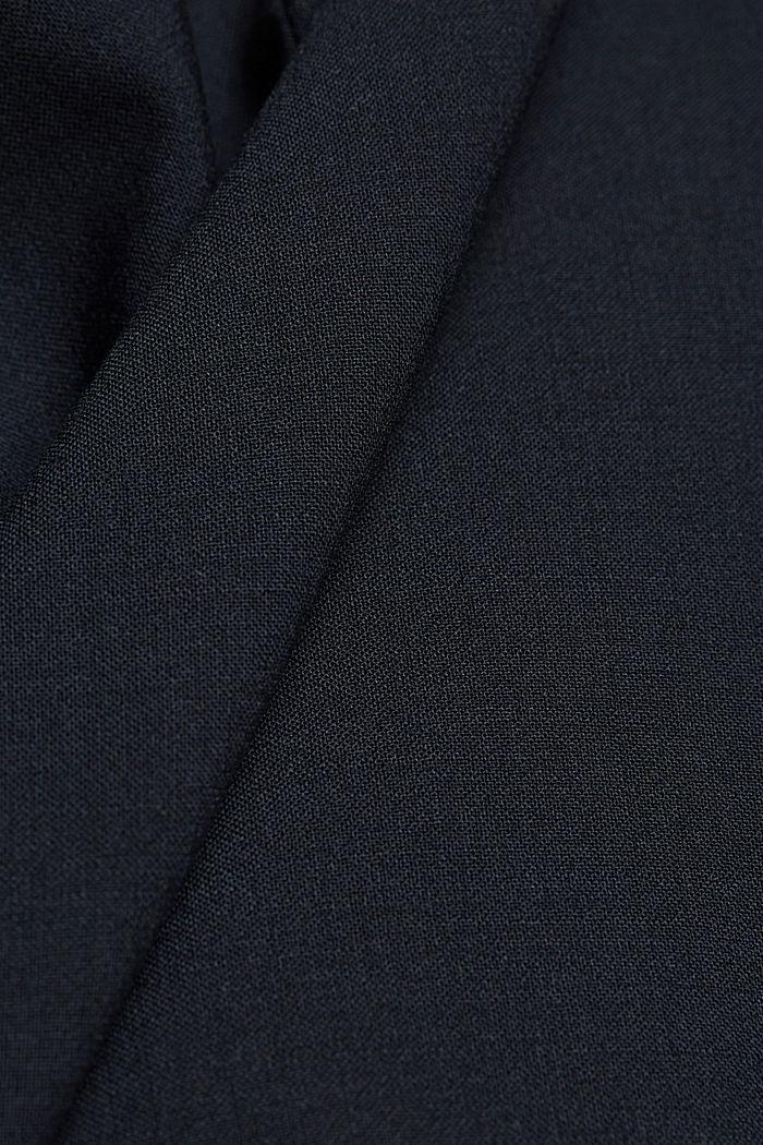 Veste en laine mélangée ACTIVE SUIT, DARK BLUE, detail image number 4