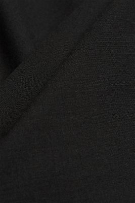 ACTIVE SUIT tailored jacket, wool blend, BLACK, detail