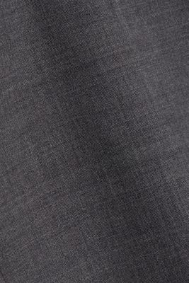 ACTIVE SUIT tailored jacket, wool blend, DARK GREY 5, detail
