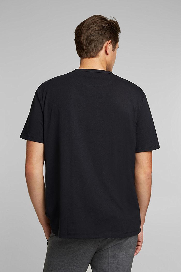 #ReimagineFlexibility: COOLMAX® jersey T-shirt, BLACK, detail image number 3