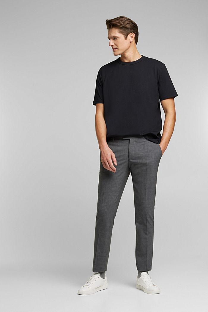 #ReimagineFlexibility: COOLMAX® jersey T-shirt, BLACK, detail image number 7