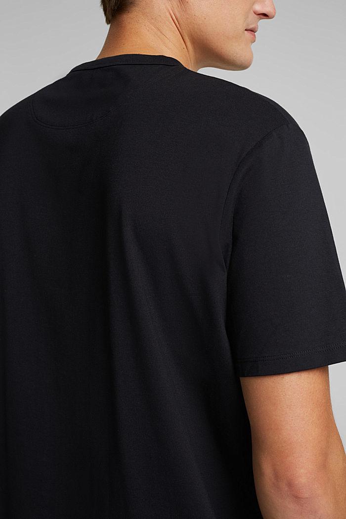 #ReimagineFlexibility: COOLMAX® jersey T-shirt, BLACK, detail image number 1