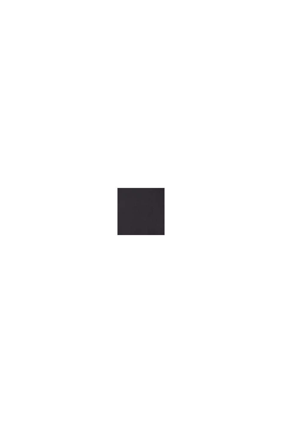 #ReimagineFlexibility: COOLMAX® T-shirt in jersey, BLACK, swatch