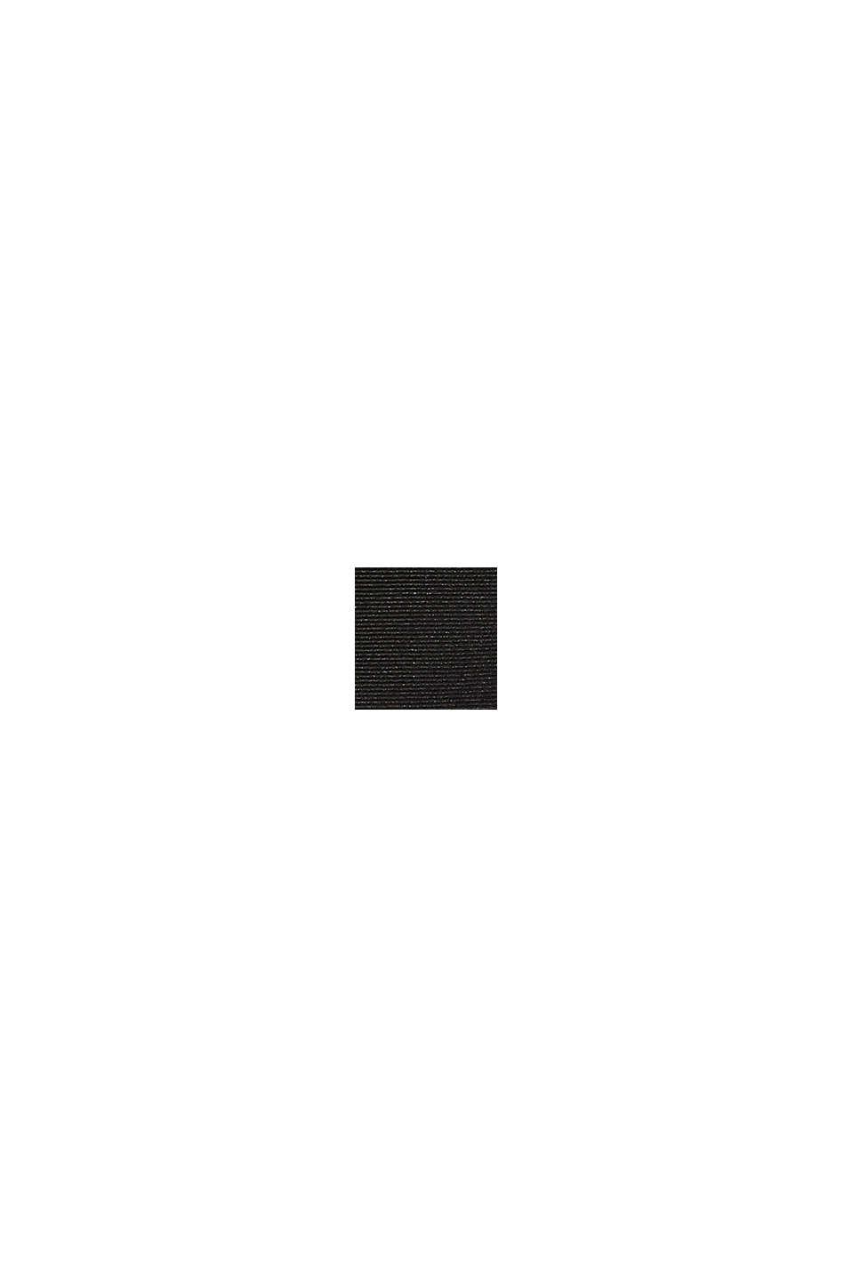 100% seta: cravatta strutturata, BLACK, swatch