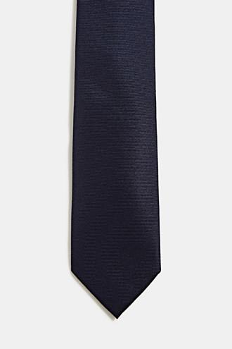 100% silk: Tie with texture