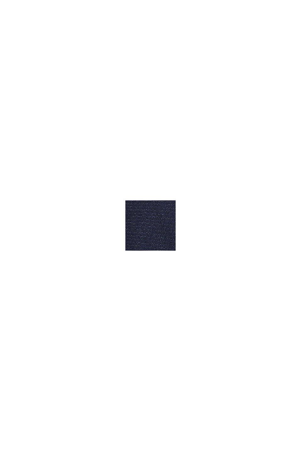 100% seta: cravatta strutturata, DARK BLUE, swatch