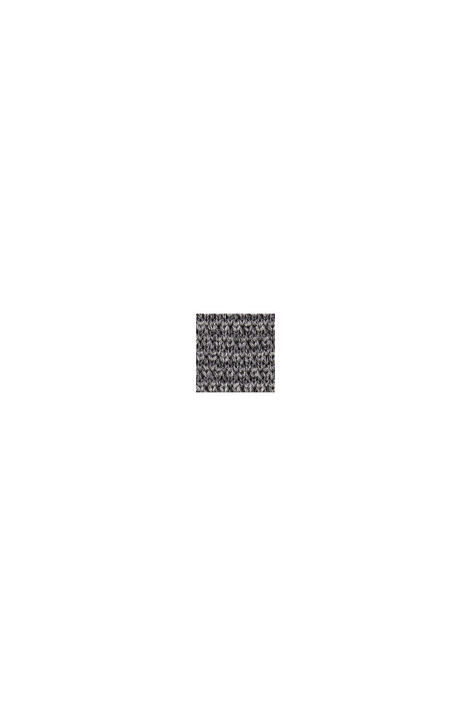 In 100% lana: cravatta a maglia, GREY, swatch