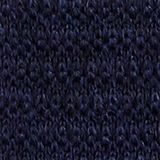 Made of 100% wool: Knit scarf, DARK BLUE, swatch