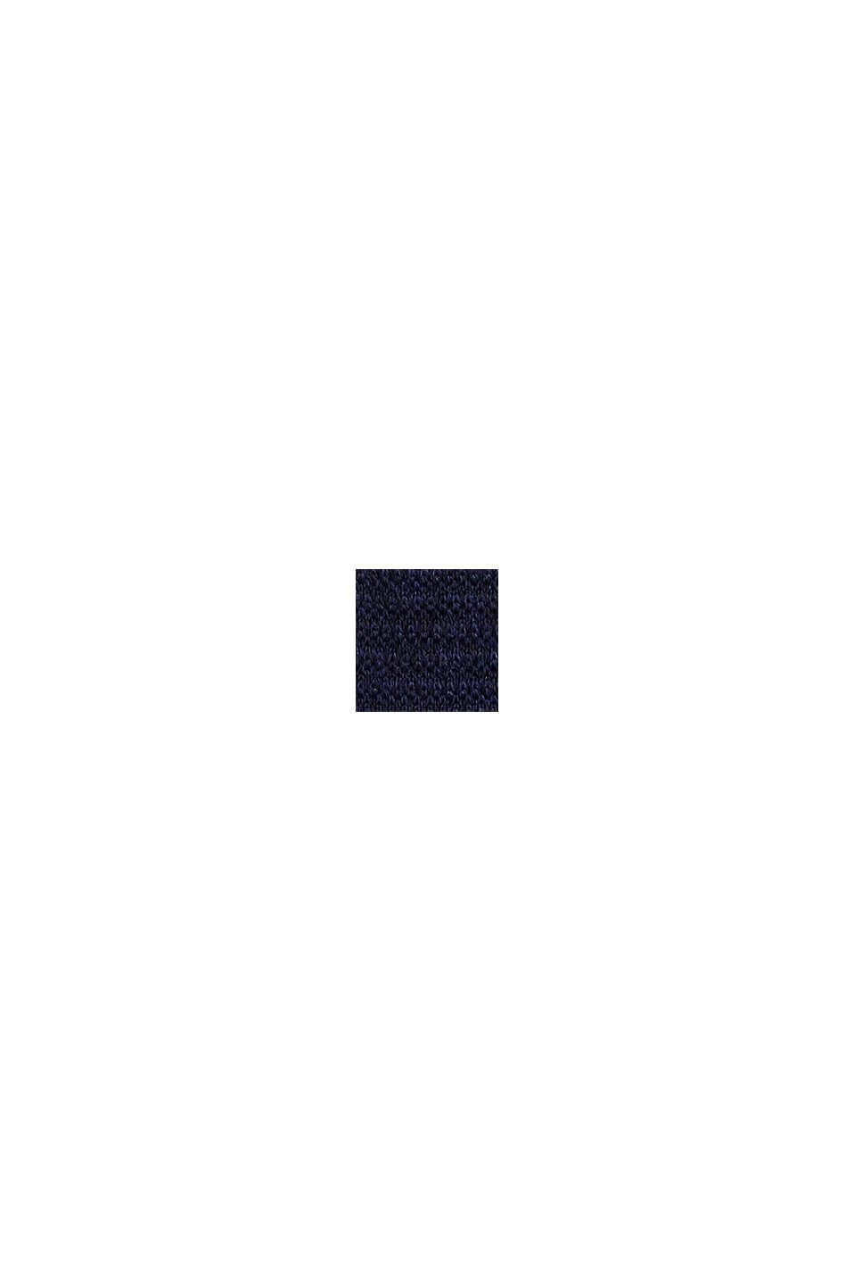 In 100% lana: cravatta a maglia, DARK BLUE, swatch