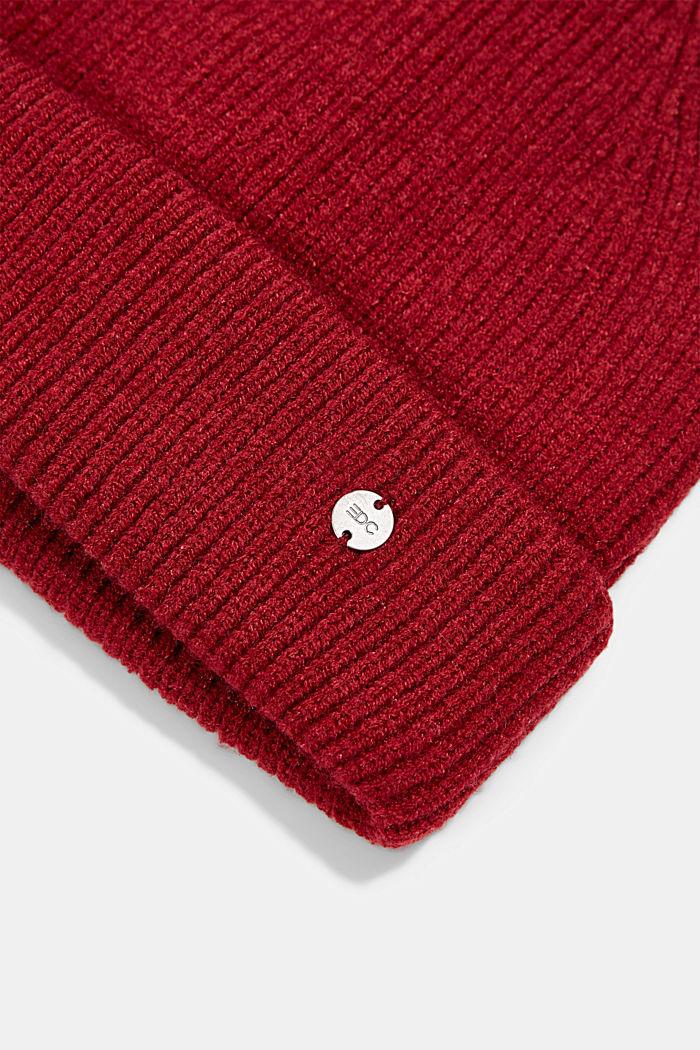 Hats/Caps, DARK RED, detail image number 1