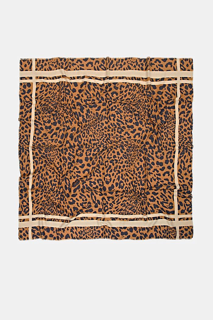 Gerecycled: sjaal met luipaardlook, BARK, detail image number 3
