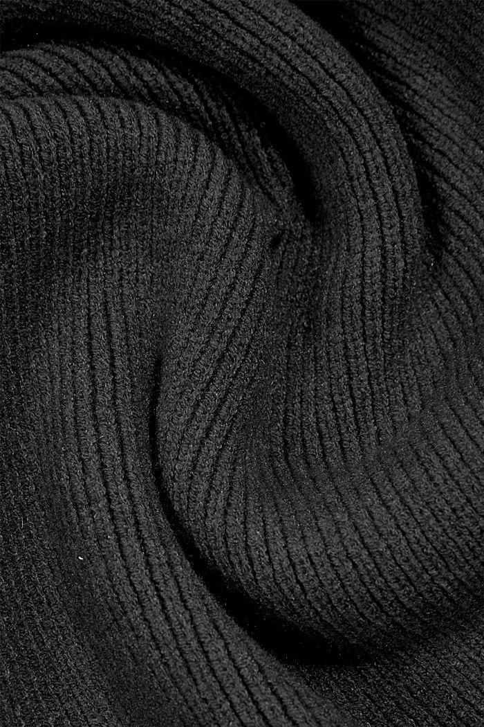 Shawls/Scarves, BLACK, detail image number 2