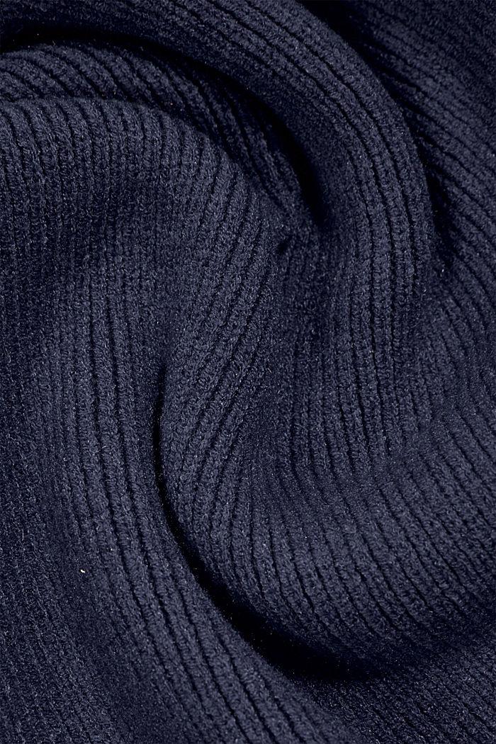Shawls/Scarves, NAVY, detail image number 2